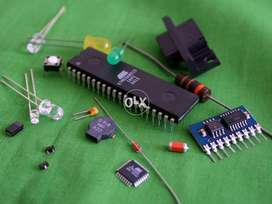 Microcontroller, Electronic, electrical and power projects