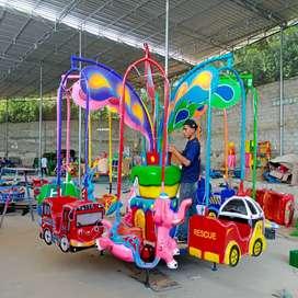 odong odong mini coaster kereta lantai NS komedi safari