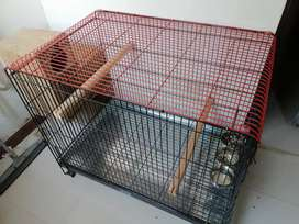 Just 2 week use cage in new condition