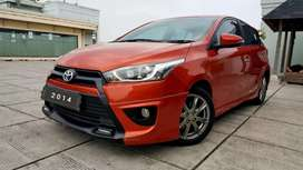 Toyota All New Yaris TRD Sportivo 1.5 AT 2014 Angs 1.9 jt