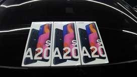 Samsung Galaxy A20S 4/64 Hitam Erafone 100% Segel Termurah OLX (3unit)