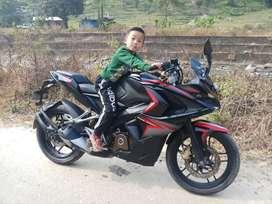 Pulsar Rs 200 Darjeeling 1st hand bike