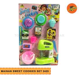 MAINAN SWEET COOKIES SET 2425- Mainan Masak Kue Anak