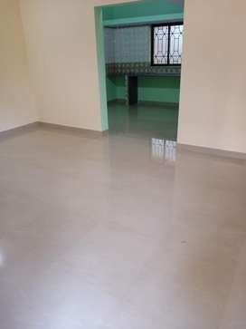 Available 1bhk unfurnished  flat for rent in porvorim.