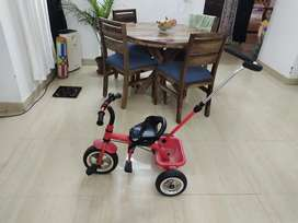 Kids red rabiit toy cycle