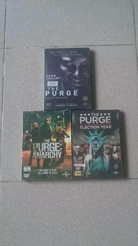 Dvd The Purge Trilogy.