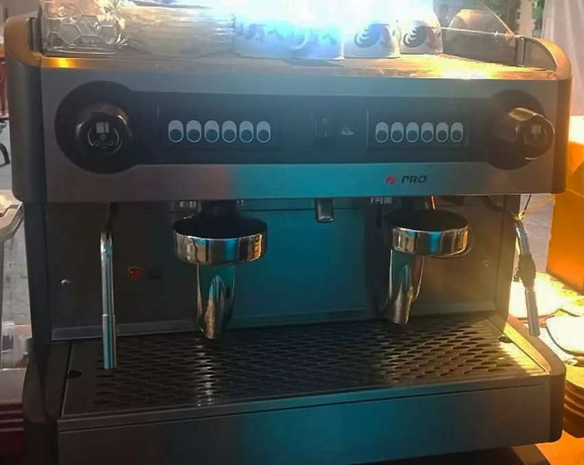Mesin coffee Promac Double Group + Grinder 0