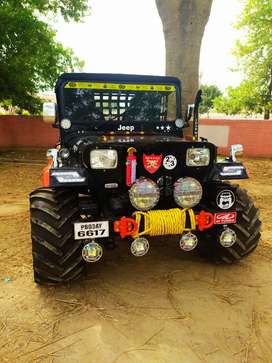 Verma jeep Modification