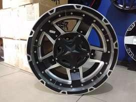 Velg Offroad model Rasta R17 untuk fortuner,  pajero,  ford,  hilux