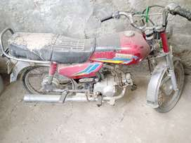 Purani Bike Sohrab Ki bad condition available for sale/ Scrap Offer