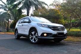Dijual Honda CRV 2.4 AT 2014 White Pearl