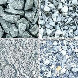 Crush, Sand, Aggregate, Construction Material available in Islamkot.