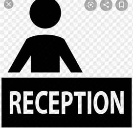Urgent requirement a receptionist in Airtel office