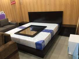 King size bed with dressing