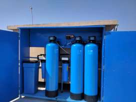 Sand filter+carbon filter+water softener+jumbo filter.whole house unit