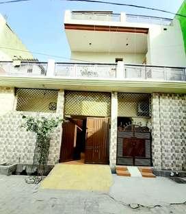 130 gaz House well constructed , car parking, tiles,AC,Gyser.