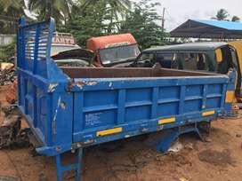 Leyland cargo tipper body