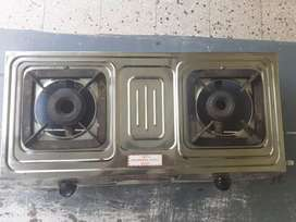 Gas stove 2 burners MADE OF STEEL FOR MORE INFORMATION leave a message