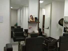 Creative unisex salon and spa