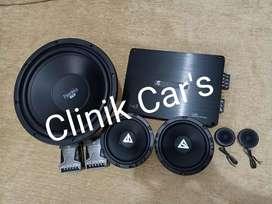 Paket audio mobil iluminator SPL**