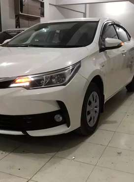 Toyota corolla GLI 2017 On Easy EMI Process 20%D.P Butt & Sons Pvt.ltd