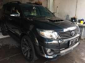 Fortuner TRD Vnt 2014 Asli Bali Matic Low KM Velg R22 Ban Baru Terawat