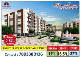 90% SBI Loan తో 1bhk flat.!!Everything you need all right here..!