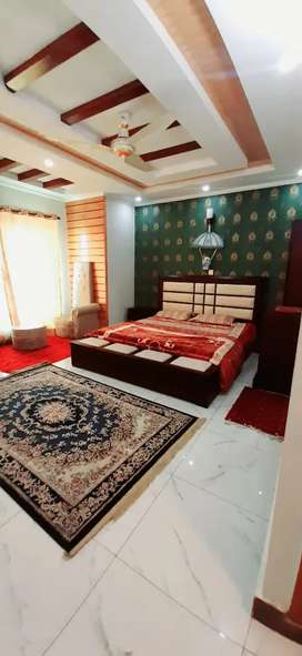 F11 Golden height full Furnished flat for sale