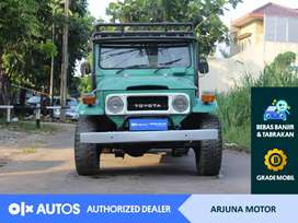 [OLX Autos] Toyota Land Cruiser FJ40 1965 Solar 3.0 M/T Hijau #Arjuna