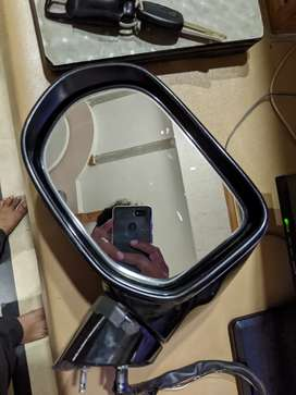 Retuctable mirror with indicator for Honda Reborn