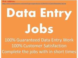 Earn upto 45k  - data entry/Simple Typing /Form Filling job