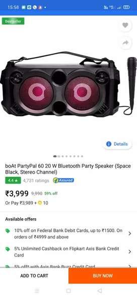 BOAT Party speaker 20W
