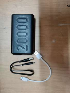 Just 1 year old Ambrane 20000w power bank with both B type and C type