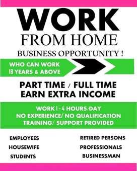 Work from home...part/full time...koi bi apply kr skta h..