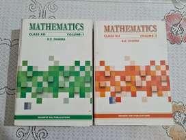 R.D.Sharma Maths class 12 vol 1&2