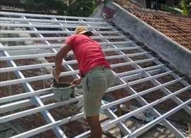 jasa terealisasi atap baja ringan ANTI BOCOR