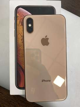 Apple iphone XS Gold 64GB 100%Condition