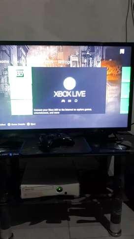 Xbox 360 sepaket tv 32 inch