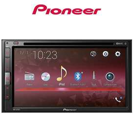 Pioneer AVH-A315BT Tape Mobil AVH A315 BT. Support ANDROID MIRROLINK