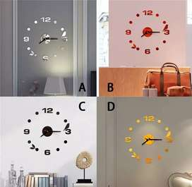 Jam dinding diameter 40 cm motif burung