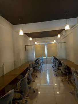 NEAR 26 STREET VIP BRAND NEW FULL FURNISHED OFFICEFOR RENT 24/7 TIMING