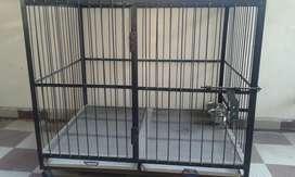 Heavy Iron Dog Cage