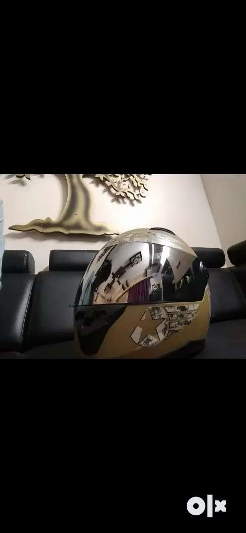 AXR Helmet, rarely used up for sale 0