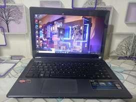 Laptop Asus k45dr AMD Radeon A8 RAM 4GB HARDISK 500GB