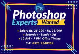 Photoshop Expert Needed for Photo Editing