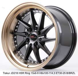 TIAKUR JD218 HSR R15X8/9 H8X100-114,3 ET30/25 BK/BZL