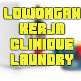 Lowongan Kerja Clinique Laundry