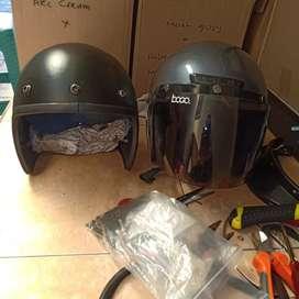 Service retro dan ganti part helm