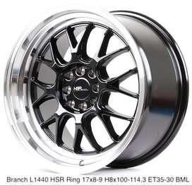 Velg BRANCH L1440 HSR R17X8/9 H8X100-114,3 ET35/30 BML