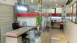 Full Furnished Office on Rent at College Road